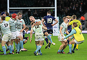 7th December 2017, Twickenham Stadium, London, England; The Varsity Match, Cambridge versus Oxford;  Cambridge Men celebrate their victory 20:10 over Oxford
