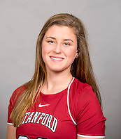 Paige Southmayd, with the Stanford Lacrosse Team. Photo taken on Wednesday, January 15, 2014