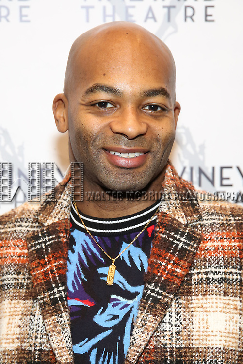 "Brandon Victor Dixon during the Opening Night Celebration for ""Good Grief"" at the Vineyard Theatre on October 28, 2018 in New York City."