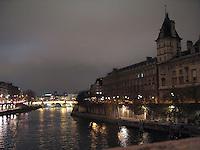 Evening on the Seine, Paris