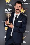 Hugo Silva win the award at Feroz Awards 2017 in Madrid, Spain. January 23, 2017. (ALTERPHOTOS/BorjaB.Hojas)