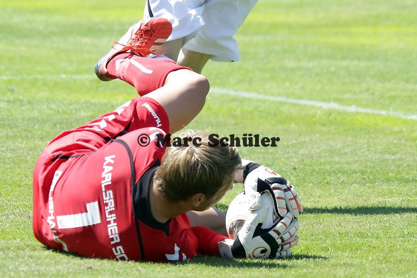 Dirk Orlishausen (KSC) - 21.07.2013: FSV Frankfurt vs. Karlsruher SC, Frankfurter Volksbank Stadion