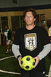 Costas Mandylor at the Celebrity soccer game to benefit Hollywood United for Haiti at 1st Setanta Cup Soccer Festival on April 11, 2009 at Chelsea Pers, NYC. (Photo  by Sue Cofln/Max Photos)