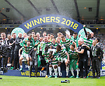 19.05.2018 Scottish Cup Final Celtic v Motherwell: Celtic with the cup
