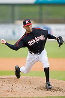 Drew O'Neil #39 of the Kannapolis Intimidators in action against the Lexington Legends at Fieldcrest Cannon Stadium April 14, 2010, in Kannapolis, North Carolina.  Photo by Brian Westerholt / Four Seam Images