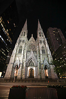 NOVA YORK, EUA, 02.06.2019 - TURISMO-EUA - Catedral de São Patricio na cidade de Nova York nos Estados Unidos na noite deste domingo, 02. (Foto: William Volcov/Brazil Photo Press)