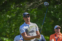 Henrik Stenson (SWE) watches his tee shot on 2 during round 3 of the Houston Open, Golf Club of Houston, Houston, Texas. 3/31/2018.<br /> Picture: Golffile | Ken Murray<br /> <br /> <br /> All photo usage must carry mandatory copyright credit (&copy; Golffile | Ken Murray)