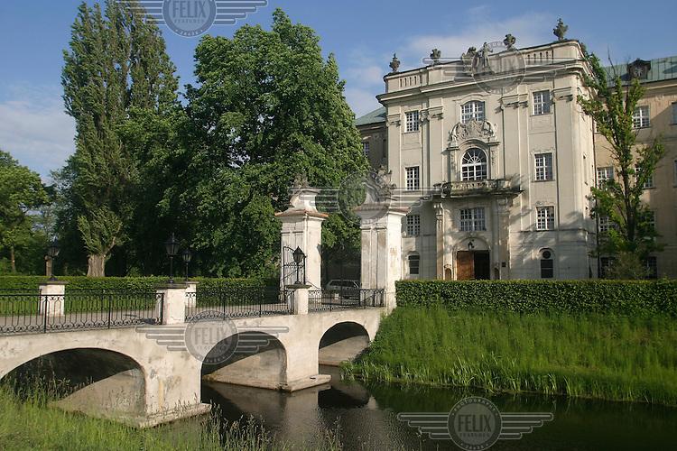 Castle Rydzyna, now turned into a hotel.