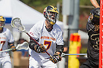 Orange, CA 05/17/14 - Landon Gagner (Arizona State #7) in action during the 2014 MCLA Division I Men's Lacrosse Championship game between Arizona State and Colorado at Chapman University in Orange, California.  Colorado defeated Arizona State 13-12.