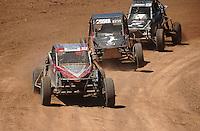 Apr 17, 2011; Surprise, AZ USA; LOORRS driver Tatum Ronco (303) during round 4 at Speedworld Off Road Park. Mandatory Credit: Mark J. Rebilas-