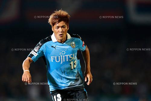 Yoshito Okubo (Frontale), <br /> JULY 11, 2015 - Football / Soccer : <br /> 2015 J1 League 2nd stage match <br /> between Kawasaki Frontale 2-0 F.C. Tokyo <br /> at Kawasaki Todoroki Stadium, Kanagawa, Japan. <br /> (Photo by AFLO SPORT)