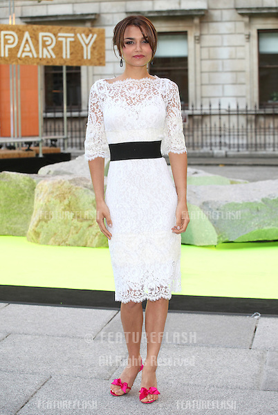 Samantha Barks arriving for the Royal Academy Of Arts Summer Exhibition Party, RAA, London. 05/06/2013 Picture by: Alexandra Glen / Featureflash
