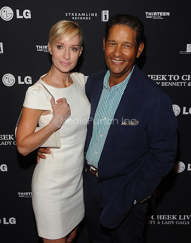New York,NY-JULY 28: Bryant Gumbel, Hilary Quinlan attend 'Cheek To Cheek' taping at at Jazz at Lincoln Center on July 28, 2014 in New York City on July 27 , 2014.  Credit: John Palmer/MediaPunch