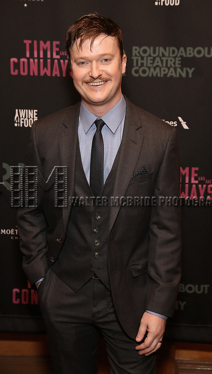 Steven Boyer<br />  attends the Broadway Opening Night After Party for The Roundabout Theatre Company production of 'Time and The Conways'  on October 10, 2017 at the American Airlines Theatre in New York City.