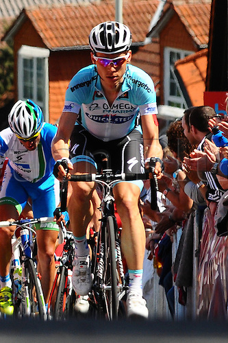 01.05.2012. Taunus Mountains, Frankfurt Germany. Eschborn-Frankfurt City Loop One day cycling tour. Tony Martin ger Omega Pharma Quick Step