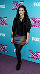 LOS ANGELES, CA - DECEMBER 17: Demi Lovato  attends  'The X Factor' season finale press conference at CBS Studios on December 17, 2012 in Los Angeles, California.