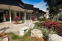 Shopping at St. Armand's Circle on Lido Key, Sarasota, Florida, USA. Photo by Debi Pittman Wilkey