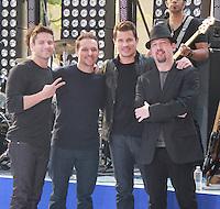 August 17, 2012 Jeff Timmons, Drew Lachey, Nick Lachey,Justin Jeffre,   98 Degrees perform on the NBC's Today Show Toyota Concert Serie at Rockefeller Center in New York City.Credit:&copy; RW/MediaPunch Inc. /NortePhoto.com<br /> <br /> **SOLO*VENTA*EN*MEXICO**<br />  **CREDITO*OBLIGATORIO** *No*Venta*A*Terceros*<br /> *No*Sale*So*third* ***No*Se*Permite*Hacer Archivo***No*Sale*So*third*
