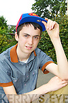 Rapper Lil Ricky aka Ricky Clifford Ballyheigue who competed at the Kerry's Got Talent finals in the INEC on Sunday..