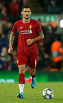 Dejan Lovren of Liverpool during the UEFA Champions League match at Anfield, Liverpool. Picture date: 27th November 2019. Picture credit should read: Andrew Yates/Sportimage