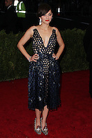 "NEW YORK CITY, NY, USA - MAY 05: Marion Cotillard at the ""Charles James: Beyond Fashion"" Costume Institute Gala held at the Metropolitan Museum of Art on May 5, 2014 in New York City, New York, United States. (Photo by Xavier Collin/Celebrity Monitor)"
