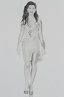 Joyce Pilarsky Spring Summer 2014. 11 x 14 inch (27.94 x 35.56 cm)
