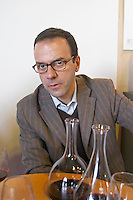 Jerome Malet, owner winemaker. Domaine Sarda Malet. Roussillon, France
