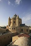Israel, Jerusalem, the Dormition Church on Mount Zion