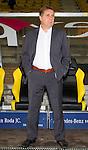 Nederland, Kerkrade, 6 oktober  2012.Seizoen 2012-2013.Eredivisie.Roda JC-VVV.Ton Lokhoff trainer-coach van VVV
