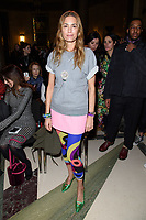 Yasmin Le Bon at the Pam Hogg show during London Fashion Week AW18, at the Freemasons' Hall in London, UK. <br /> 16 February  2018<br /> Picture: Steve Vas/Featureflash/SilverHub 0208 004 5359 sales@silverhubmedia.com