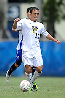 2 October 2011:  FIU midfielder/forward Mario Uribe (17) prepares to attempt a goal in the second half as the FIU Golden Panthers defeated the University of Kentucky Wildcats, 1-0 in overtime, at University Park Stadium in Miami, Florida.