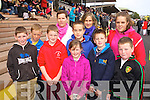 Alan Foley, Ronan O'Neill, Paddy Foley, Eleanor Foley, Abigail O'Neill, Jake O'Sullivan, Katie O'Neill, Vincent O'Doherty, Charlotte O'Neill and Tom Foley (Ballybunion and Lisselton) enjoying Listowel races on Sunday.