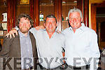 Brothers in arms  Johnny, Arthur and Mike O'Connor at their 1985 All Ireland club Championship reunion in the River Island Hotel on Saturday night