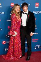 Montse Cruz and Jordi Cruz attends to the photocall of the Gala Sida at Palacio de Cibeles in Madrid. November 21, 2016. (ALTERPHOTOS/Borja B.Hojas) //NORTEPHOTO.COM