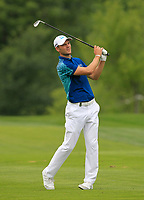 Martin Kaymer (GER) on the 5th fairway during Round 1 of the D+D Real Czech Masters at the Albatross Golf Resort, Prague, Czech Rep. 31/08/2017<br /> Picture: Golffile | Thos Caffrey<br /> <br /> <br /> All photo usage must carry mandatory copyright credit     (&copy; Golffile | Thos Caffrey)