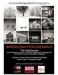 As a Grand Prize winner in the 11th Annual Pollux Awards, my work will be featured at the Barcelona Foto Biennale from October 4 - 21 in Barcelona, Spain.
