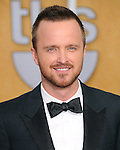 Aaron Paul attends The 20th SAG Awards held at The Shrine Auditorium in Los Angeles, California on January 18,2014                                                                               © 2014 Hollywood Press Agency