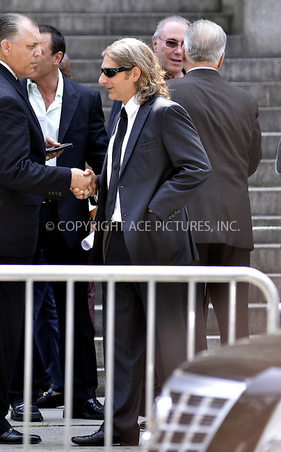 WWW.ACEPIXS.COM<br /> <br /> June 27 2013, New York City<br /> <br /> Michael Imperioli at the funeral of actor James Gandolfini at St. John the Divine on June 27, 2013 in New York City. Gandolfini died on June 19, 2013 in Rome, Italy.<br /> <br /> By Line: Curtis Means/ACE Pictures<br /> <br /> <br /> ACE Pictures, Inc.<br /> tel: 646 769 0430<br /> Email: info@acepixs.com<br /> www.acepixs.com