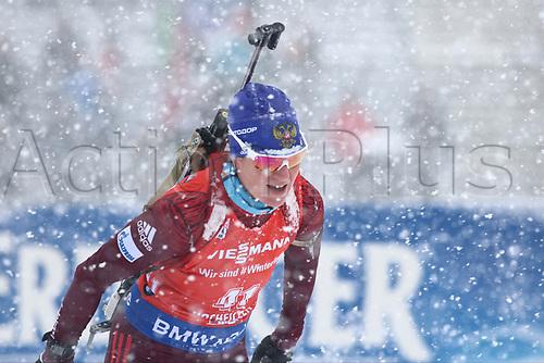 8th December 2017, Biathlon Centre, Hochfilzen, Austria; IBU Womens Biathlon World Cup; Irina Starykh