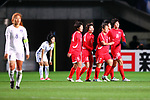 North Korea team group (PRK), <br /> DECEMBER 11, 2017 - Football / Soccer : <br /> EAFF E-1 Football Championship 2017 Women's Final match <br /> between North Korea 1-0 South Korea <br /> at Fukuda Denshi Arena in Chiba, Japan. <br /> (Photo by Naoki Nishimura/AFLO)