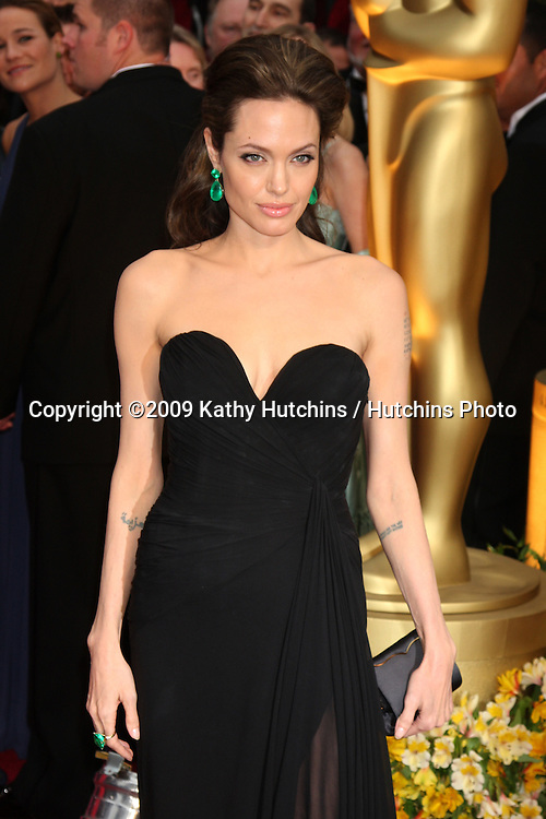 Angelina Jolie   arriving at the 81st Academy Awards at the Kodak Theater in Los Angeles, CA  on.February 22, 2009.©2009 Kathy Hutchins / Hutchins Photo...                .