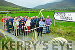 Cahersiveen's newest walk was officially opened on Friday evening by Jeffrey Quirke Lord Mayor of Cahersiveen , pictured here in Reenrusheen at the start of the Walk.