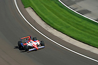 10-18 May 2008, Indianapolis, Indiana, USA. Hideki Mutoh's Honda/Dallara.©2008 F.Peirce Williams USA.