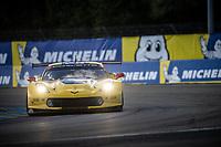 #64 CORVETTE RACING (USA) CHEVROLET CORVETTE C7 R LM GTE PRO OLIVER GAVIN (GBR) TOM MILNER (USA) MARCEL FASSLER (CHE)