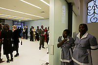 African immigrants looks during  cerimony at  consulat of Angola in Lisbon,Portugal 11 June,2006.
