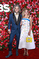 NEW YORK, NY - JUNE 10:Wayne Coyne, Katy Weaver  at the 72nd Annual Tony Awards at Radio City Music Hall in New York City on June 10, 2018.