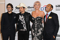 LAS VEGAS, NV, USA - MAY 18: Josh Groban, Brad Paisley, Kesha, Ke$ha, Ludacris in the press room at the Billboard Music Awards 2014 held at the MGM Grand Garden Arena on May 18, 2014 in Las Vegas, Nevada, United States. (Photo by Xavier Collin/Celebrity Monitor)