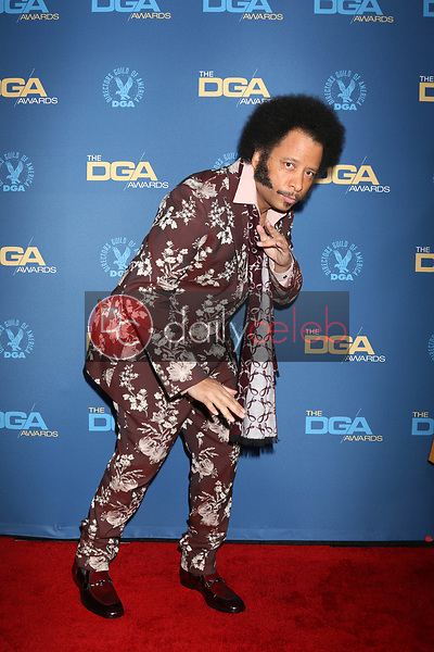Boots Riley<br /> at the 71st Annual Directors Guild Of America Awards, Ray Dolby Ballroom, Hollywood, CA 02-02-19<br /> David Edwards/DailyCeleb.com 818-249-4998