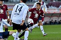 Alex Berenguer of Torino FC scores the goal of 1-0 for his side <br /> Torino 12/01/2020 Stadio Olimpico <br /> Football Serie A 2019/2020 <br /> FC Torino - Bologna  <br /> Photo Giuliano Marchisciano / Insidefoto