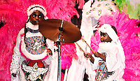 Big Chief Bo Dollis and the Wild Tchoupitoulas at French Quarter Festival 2011.